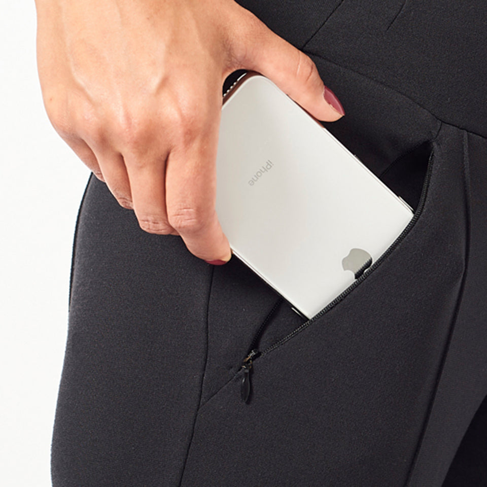Secured zip pockets fit your phone