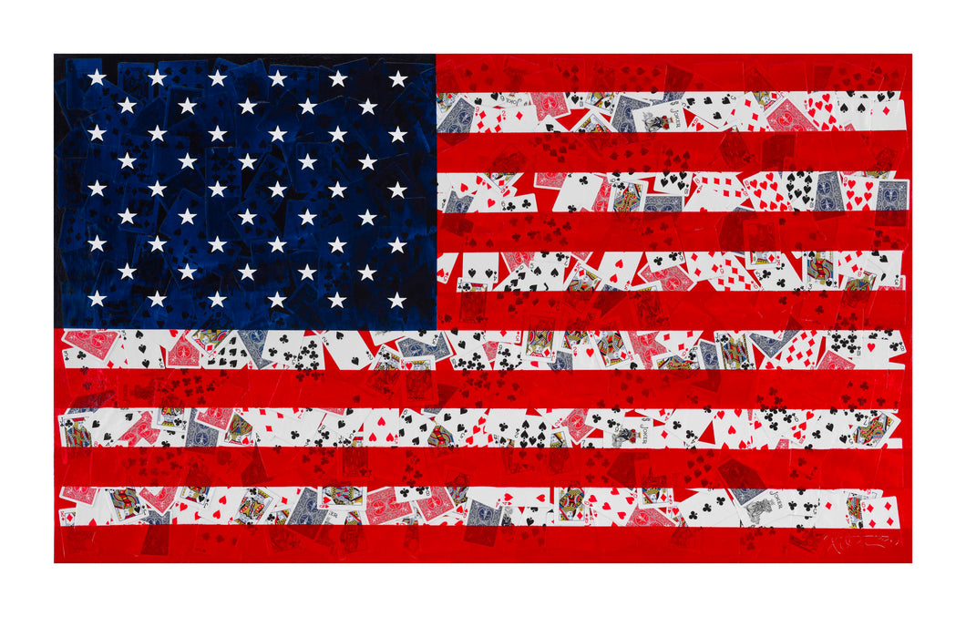 AMERICAN FLAG - Available: 17, 18, 19, 20 From Edition of 20