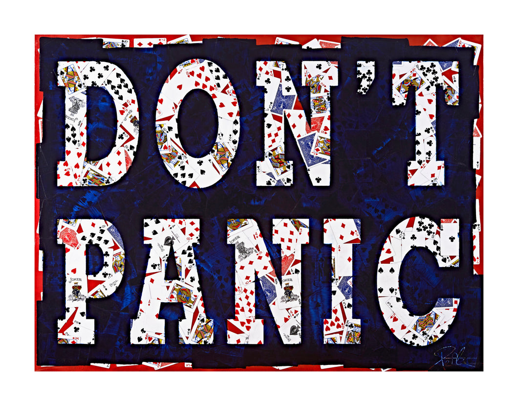 DON'T PANIC - Limited Edition of 20