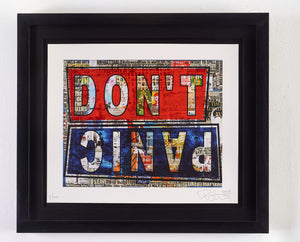 DON'T PANIC - Limited Edition of 100