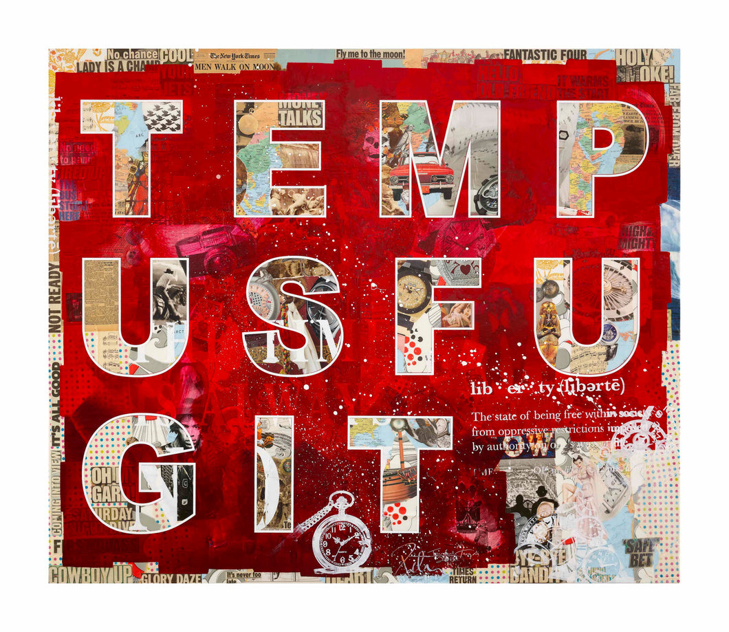 TEMPUS FUGIT - Limited Edition of 10