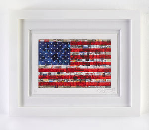 AMERICAN FLAG - Limited Edition of 10