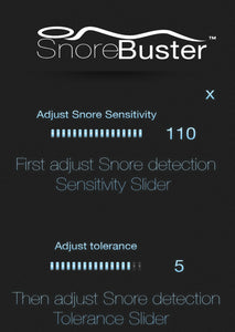 SnoreBuster app. New Snore Stopper Device. Snore Solution Bracelet, Designed To Stop Snoring After Several Uses. Alternative Snoring Aid To Chin Straps, Pillows, Strips. Relief From Your Snoring!