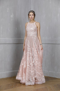 FIORE BLUSH GOWN