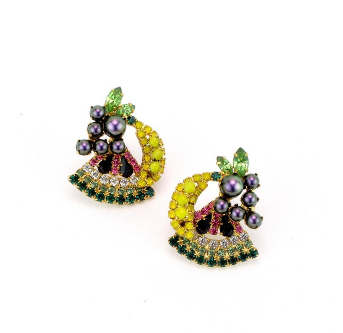 PETITE FRUITE SALAD EARRINGS