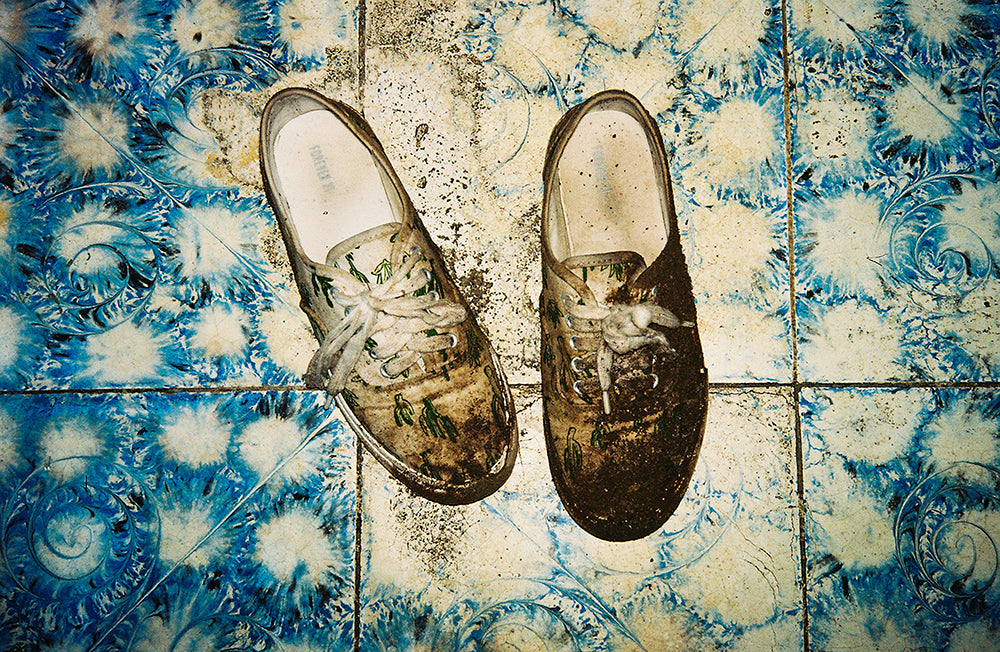 Lisette Poole - A Migration Story 'Shoes'