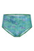 High Waist Mint Splash Bikini Briefs