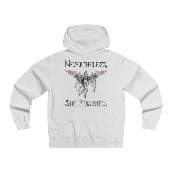Nevertheless, She Persisted - Men's Lightweight Pullover Hooded Sweatshirt