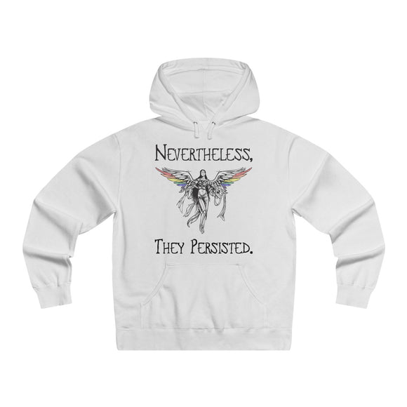 Nevertheless, They Persisted - Men's Lightweight Pullover Hooded Sweatshirt
