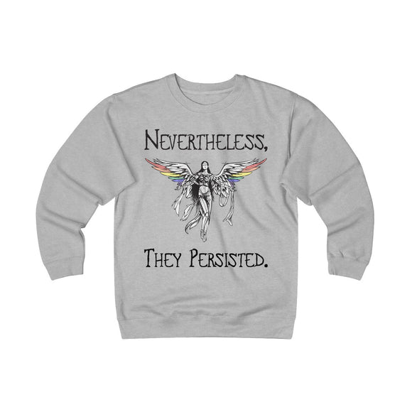 Nevertheless, They Persisted - Unisex Heavyweight Fleece Crew
