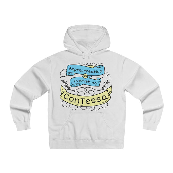 Representation is Everything - Men's Lightweight Pullover Hooded Sweatshirt