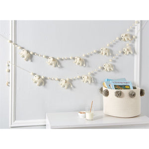 Elephant Wool Garland