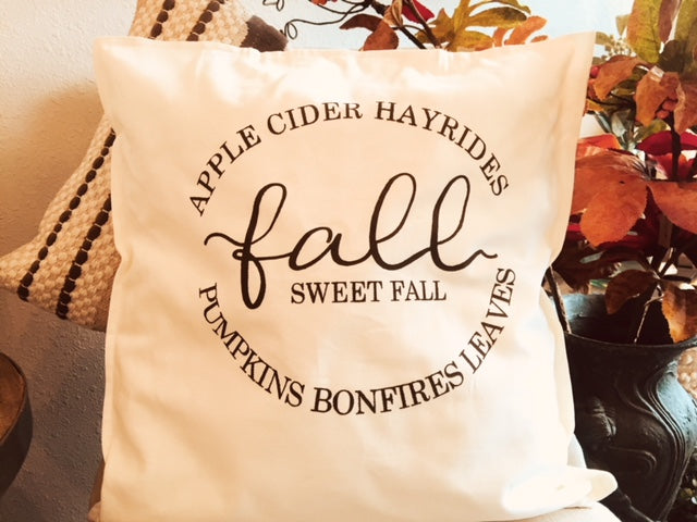 Fall Pillow Workshop- October 3