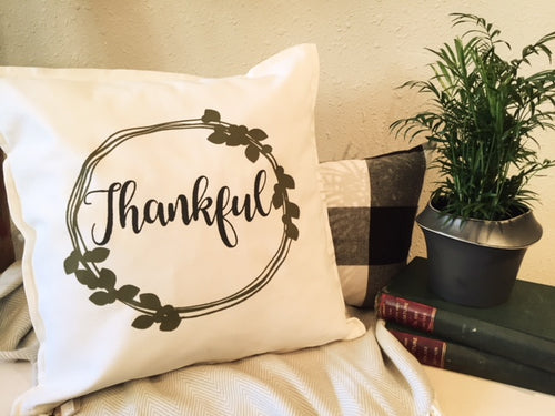 Thankful Custom Pillow