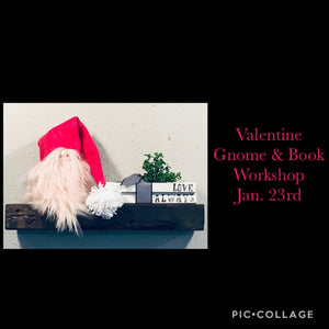 Gnome & Stamped Books Workshop