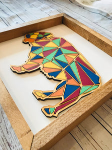Mosaic Bison DIY Kit
