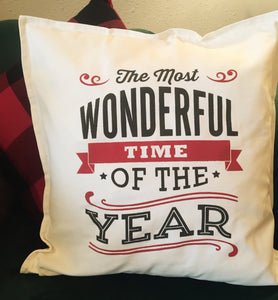 SOLD OUT-Holiday Pillow Workshop