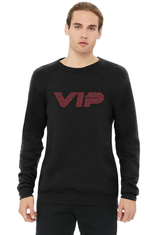 VIP Rose Swag Crew Neck