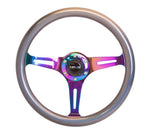 NRG Chameleon Wood Grain Steering Wheel 350mm