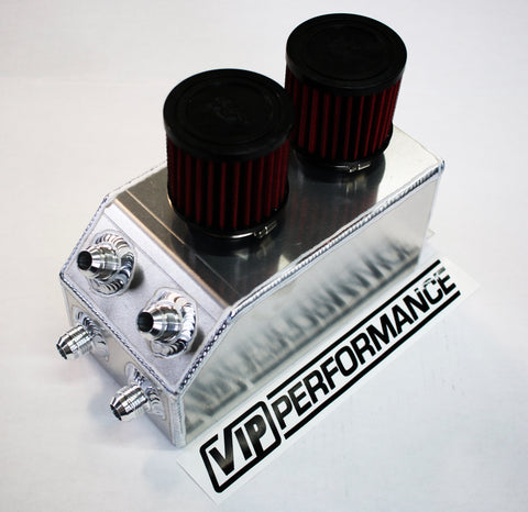 VIP Catch Can - Aluminum Edition - Internally Baffled - Built for Honda/Acura Battery Tray