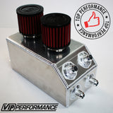 VIP Performance Catch Can - Aluminum Edition - Internally Baffled - Build for Honda/Acura Battery Tray