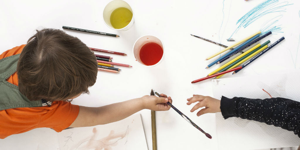 Children Painting