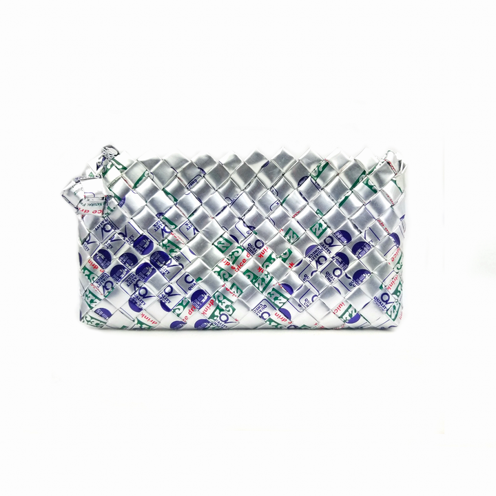 Limited Edition - Silver Woven Mini Clutch
