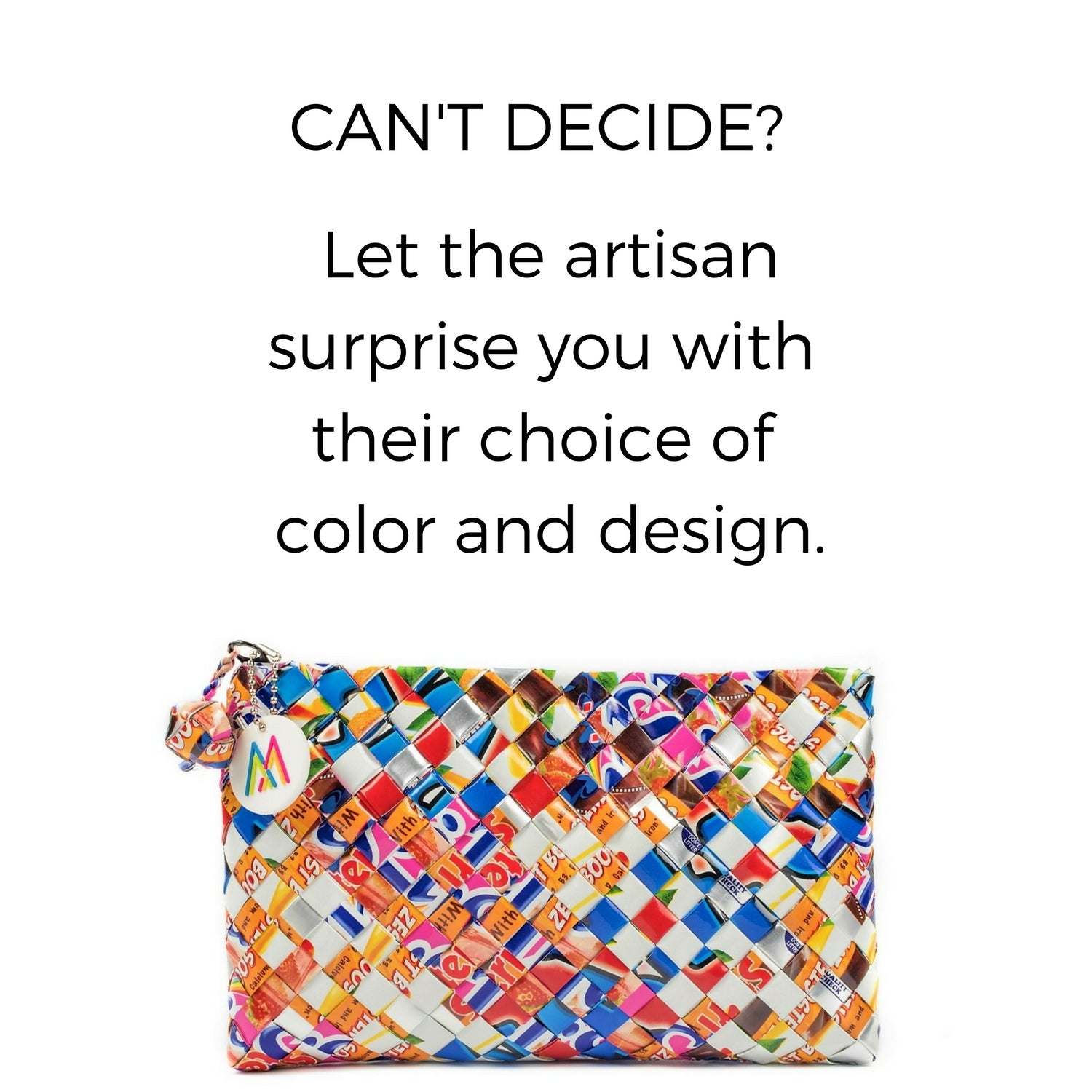 Artisan's Choice Multicolor Clutch