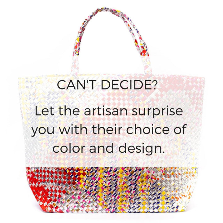Artisan's Choice Multicolor Maxi Tote