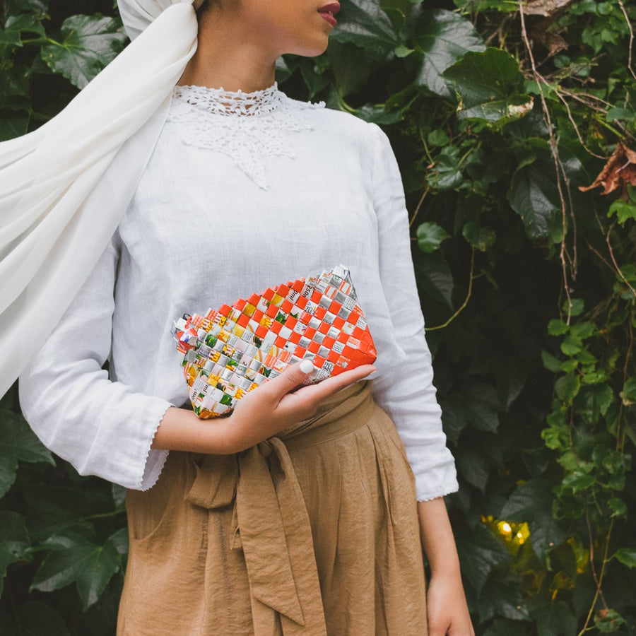 Artisan's Choice Multicolor Mini Clutch
