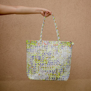 Limited Edition - Yellow Woven Shoulder Bag