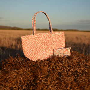 Limited Edition - Orange Woven Tote