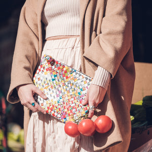 Artisan's Multicolor Maxi Clutch