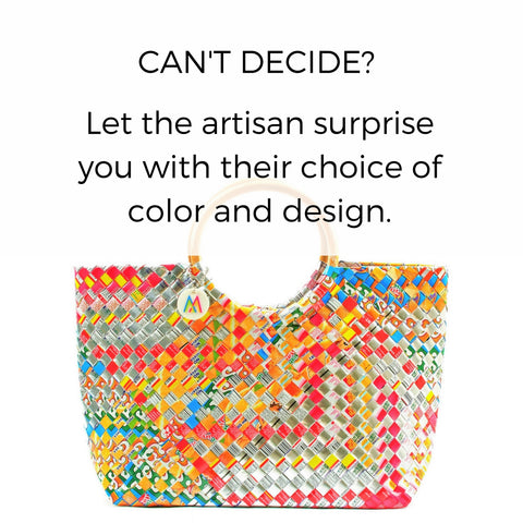 Artisan's Choice Multicolor Handbag