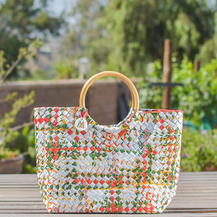 Mother Erth - Limited Edition - Strawberry Shake Handbag | Handmade and Eco Friendly