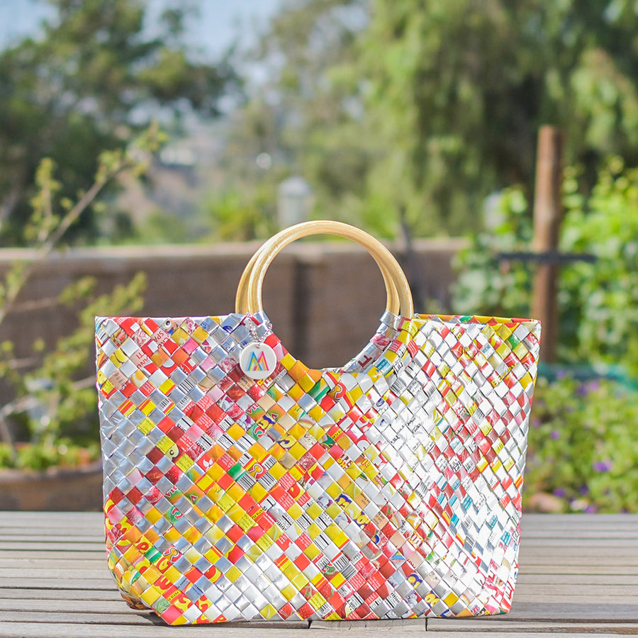 Mother Erth - Limited Edition - Summer Weave Handbag | Handmade and Eco Friendly