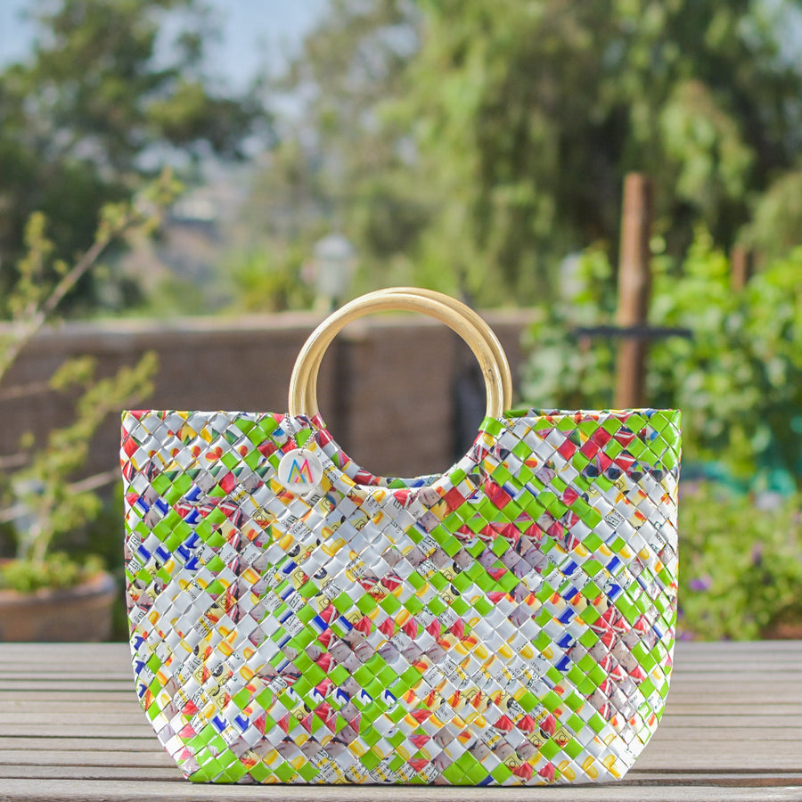 Mother Erth - Limited Edition - Sea Green Handbag | Handmade and Eco Friendly