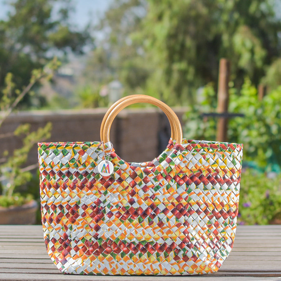 Mother Erth - Limited Edition - Aztec Apple Handbag | Handmade and Eco Friendly