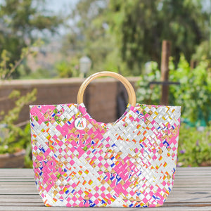 Mother Erth - Limited Edition - Pink Lemonade Handbag | Handmade and Eco Friendly