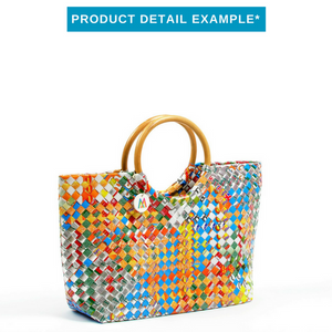 Mother Erth - Artisan's Choice Rattan Handbag | Handmade and Eco Friendly