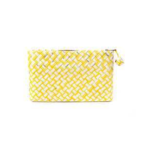 Limited Edition - Yellow Woven Clutch