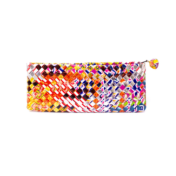 Artisan's Multicolor Bar Clutch