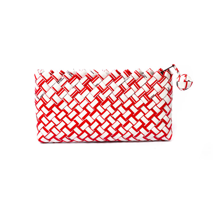 Limited Edition - Red Woven Mini Clutch