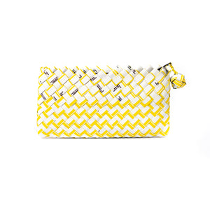 Limited Edition - Yellow Woven Mini Clutch