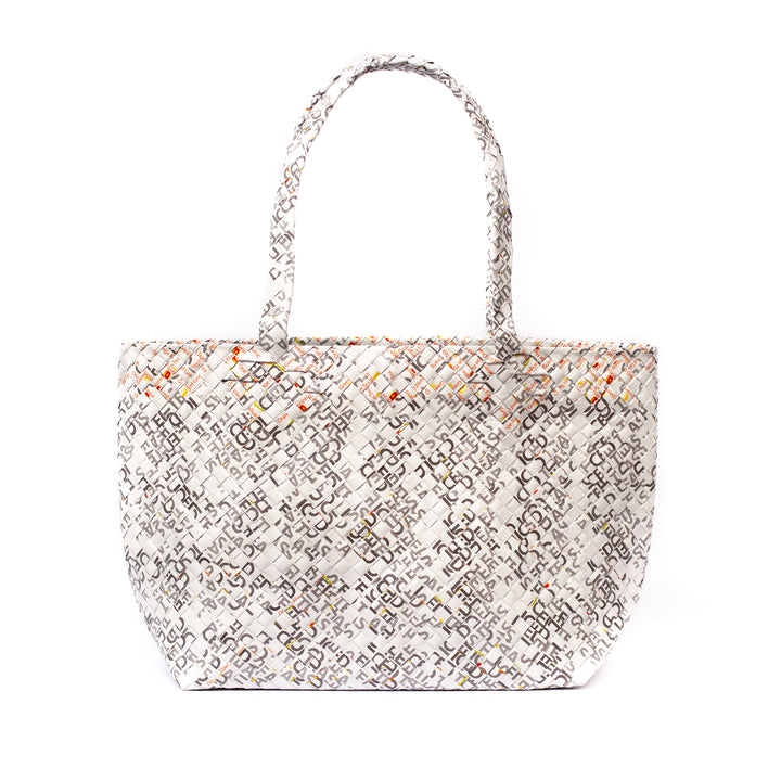 Limited Edition - White Woven Tote