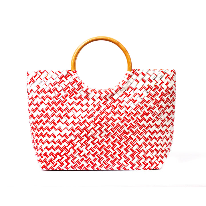 Limited Edition - Red Woven Handbag