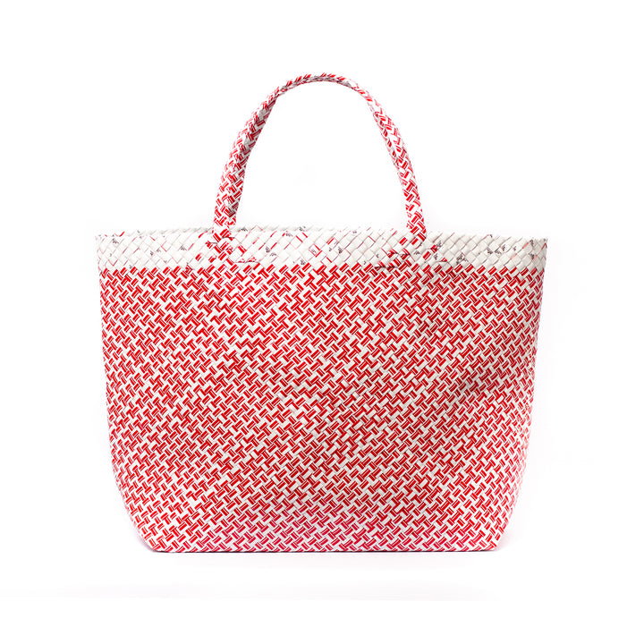 Limited Edition - Red Woven Maxi Tote
