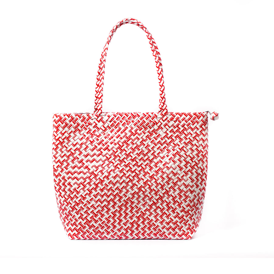 Limited Edition - Red Woven Shoulder Bag