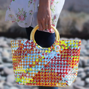 Mother Erth - Artisan's Choice Multicolor Handbag | Handmade and Eco Friendly