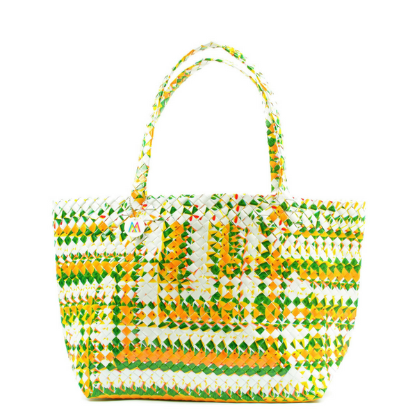 Mother Erth - Aztec Weave Artisan Tote | Upcycled and Eco Friendly